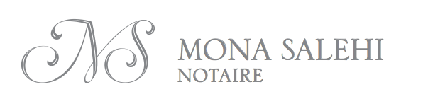 Mtre. Mona Salehi, notary in Montreal